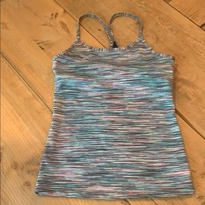 Athleta Girl tank top size M/8-10 lined bust area